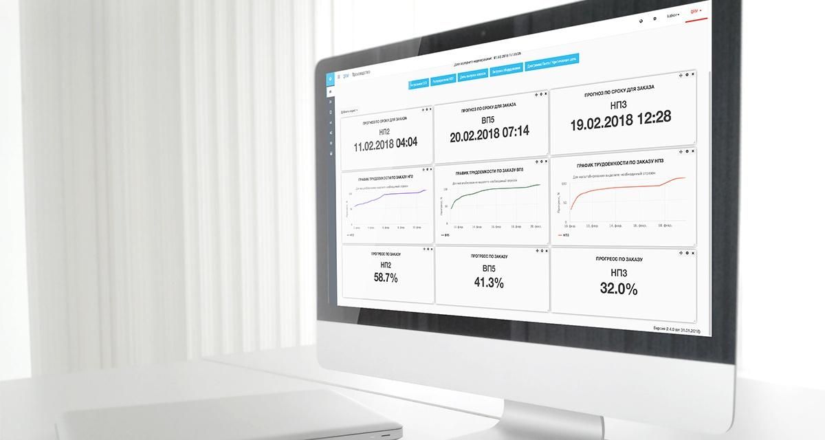 Система оперативного управления производством BFG iMES